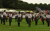Ullapool and District Pipe Band at Forres